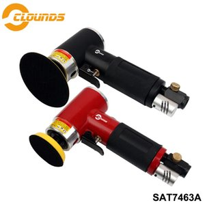 "SAT7463A pneumatique Sander Air Outil 2"" 3"" Taille Pad non-orbital Mini Air Sander"