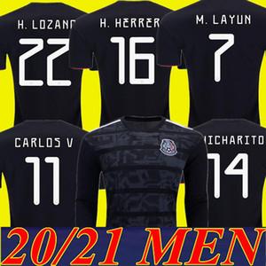 2019 Copa América Mejor jugador Versión México Fútbol Jerseys Camisa de fútbol 19 20 Chicharito Camisetas de Futbol Mexicano Maillot de Pie