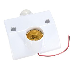 1*Utility E27 Infrared Motion Sensor LED Light Lamp Holder Smart Control Switch