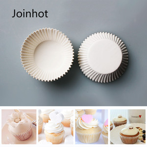 100Pcs Pişirme Kalıp Kek Alt Destek Renkli Kağıt Kutu Kek Cupcake Yağ geçirmez Alt Destek Kağıt Cupcake Pişirme Kek Kılıf