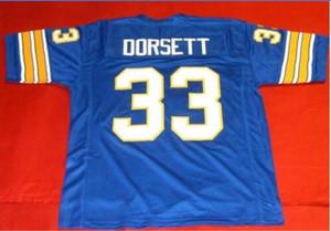 Hommes Femmes sur mesure jeunesse vintage # 33 Tony Dorsett PITTSBURGH College Football Jersey taille s-5XL ou sur mesure tout maillot de nom ou le numéro
