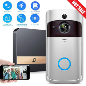 720P Anti-theft Video Doorbell Wireless 2.4G WiFi Real Time Smart PIR Motion Detection Ring Doorbell Home Security Low Power