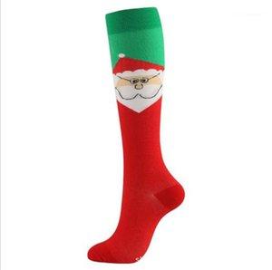 Elk Snowflake Winter Mens Designer Socks Unisex Womens Holiday Clothing Contrast Color Chirstmas Designer Socks Christmas Stockings Floral