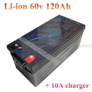 60V 100AH 120AH 리튬 이온 리튬 + 10A 충전기 인버터 태양 광 시스템 백업 전원 RV의 EV에 대한 DEEP CYCLE VRLA AUTO 배터리를 교체
