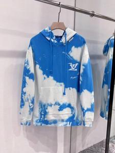 2020ss Frühling und Sommer neuer hochwertiger Baumwolldruck kurzer Ärmel Rundhalsausschnitt Panel T-Shirt Größe: m-L-XL-XXL-XXXL Farbe: schwarz wissen f44