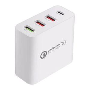 cgjxs 48w di ricarica USB Quick Charger 3 .0 QC3 0,0 di ricarica rapida caricatore del telefono mobile Qc 3 0 Nuovo