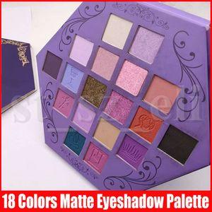 Estrela Eye Makeup Palette sombra Blood Lust sombra de olho 18 cores roxo Artistry olho sombras Paleta