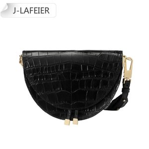 Shoulder Bags Supper Seabob 2020 New Fashion Women Clothing Half Circle Coverd Pu Leather Trendy One Shoulder Shell Bags handbag