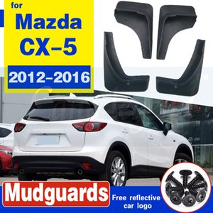 Mud Car Frente Verso Flaps Fender Flares do respingo Guarda-lamas para Mazda CX5 CX5 2012 2013 2014 2015 2016 mudguards