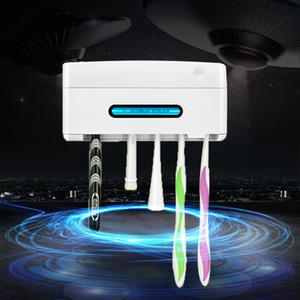 BAISPO Antibacteria УФ Подставка для зубных щеток Настенный Стерилизатор для зубных щеток очистителя Главная Аксессуары для ванной комнаты Наборы T200506