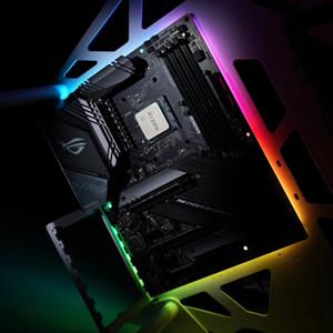 ATX кабинет Б Материнские платы Украшение Light Strip, ATX PC Case MAINBOARD Back Light, 5V 3pin, Поддержка M / B Control, 300x236x4mm