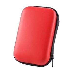 القرص الصلب حقيبة حمل لالرقمية الصلبة المحمولة الخارجية محرك 2.5 بوصة HDD EVA ضد الصدمات حقيبة السفر