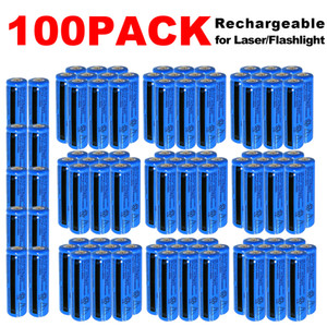 100PACK 3000mAh Rechargeable 18650 Battery 3.7v High Quality BRC Li-ion 18650 Batteriers 3000mah for Flashlight Torch Laser