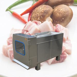 Commercial Meat Slicer en acier inoxydable entièrement automatique Shred Slicer Dicing machine électrique