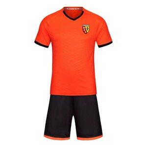 Ланс 2020 футбол равномерная тренировка костюм короткий костюм мужской спортивной тренировки костюм бегущие износа спортивная одежда спортивная группа скалолазания