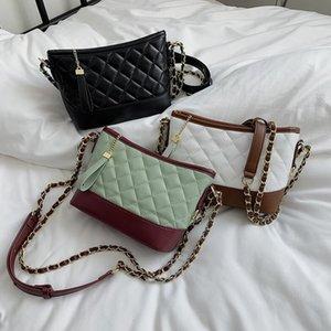 Mode féminine Sac BACKET Check haute qualité Lady petit sac à main bandoulière Sac à bandoulière
