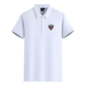 Moda Golf Polo T-shirt da Uomo Logo DC United Football Club T-shirt Polo T uomo