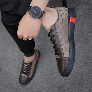 2021 New Luxe Designer Casual Walking Shoes, Herren Designer Schuhe Rindsleder Leinwandschuhe, Oxford Casual Schuhe Chaussures
