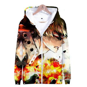 Personality My Hero Academia Zipper Jacket Boy Girls Hoodies Boku No Hero Academia Long Sleeve Mens Hoodies Sweatshirts Oversize