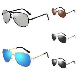 2020 New Korean Design Sunglasses Men Trendy GM Large Frame Sunglasses Women Vintage Gentle Sun Glasses Original Package HER Y200415#948