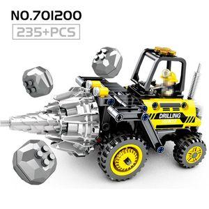 Engenharia Rolo Cidade Série Kids Brinquedos Road Blocks Para tijolos de construção Figura Technic Car presente Educação Infantil mecânicos yxleFc
