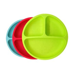1pc food grade Silicone children baby tray safety material safe to use reuse and easy to clean