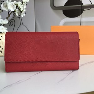 Classic Designer Womens Wallets Purses Men Womens Long Wallets Fold Card Holder Passport Holder Women Long Folded Purse With box