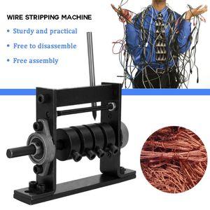 Manuel Tel Sıyırma Makinesi Taşınabilir Tel Hurda Kablo Sıyırma Makinesi Soyma Makineleri 1-30mm El Aracı Için Stripper