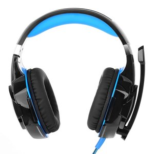 G2000 Computer Stereo LED Gaming Headphones Deep Bass Game Earphone Game Headset with Mic LED Light for PC Gamer