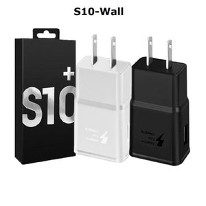 S10 Schnell Adaptive Wall Charger 5v 2a 9v 1 .67a QC3 0,0 Energien-Adapter für Samsung Galaxy S6 S7 S8 S9 S10 Hinweis 8 9 10 Iphone Htc