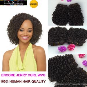 Jerry Curl Futura Fibre Blended Cheveux (Human Hair Mix synthétique) Weave Curl tissage noirs bouclés cheveux Trames
