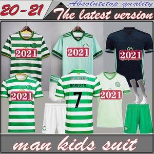 (20) (21) 셀틱 축구 유니폼 2020 2021 남성 키즈 셔츠 레트로 1998 98 99 05 06 멀리 검은 1999 1990 1992 아일랜드 축구 셔츠