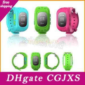 Kids Smart Bracelet Wristwatch F13 Smartband Digital Watch Gps Position Bidirectional Call Sos Communicator Ios Android Phone Retail Box