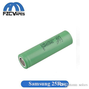 Authentic 100% Original INR18650 25R M Battery 2500mAh 20A Discharge Flat Top Vape Lithium 18650 Battery for Samsung Box Mods