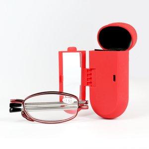 Yeni katlama kaliteli Yfe9D kutusu okuma kadın presbiyopik gözlüklerle presbiyopik çerçeveyi Glasses