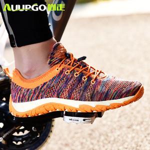 Scarpe originali AUUPGO in bicicletta per le donne degli uomini Wading scarpe con drenaggio foro casuale non serratura della bicicletta Mountain Bike Taglia 45