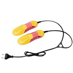 220V 10W EU затыкает гоночного автомобиля Форма Voilet свет обуви Сушилка Протектор Запах Дезодорант осушение устройства Обувь Сушильная машина Нагреватель