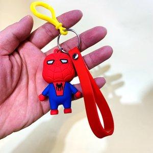 Горячие Мстители летучие мыши Супермен $ команда Человек-паук мультфильм ПВХ брелок Горячие Мстители ключ брелок летучие мыши Супермен $ команда Человек-паук мультфильм ПВХ Keychai