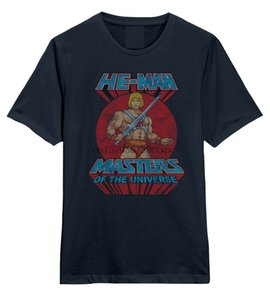 He-Man - Masters Of The Universe Logo - Official Mens T Shirt
