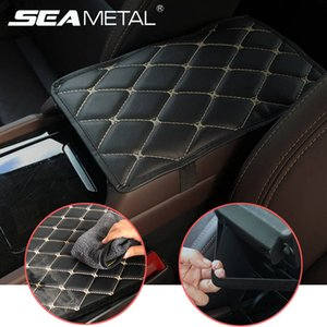 Car Armrest Mat Interior Auto Armrests Storage Box Mats Universal Armrest Cushion Cover Pad Automobiles Protector Waterproof Pad