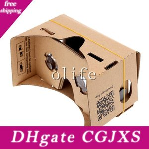 New Diy Google Cardboard Vr Phone Virtual Reality 3d Viewing Glasses For Iphone 6 6s Plus Samsung S6 Edge S5 Nexus 6 Android