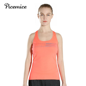 Picemice Femmes populaires Chevauchement Dew Tank Top Sport Yoga Fitness Course à pied Lifes Jogging Gym Urltra-Light Gilet sexy