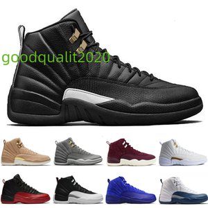 Dark 12 12s Men Basketball Shoes Bordeaux Grey Flu Game the Master Taxi Playoffs French Blue Gamma Barons Psny Purple Sunrise Sport Sneakers