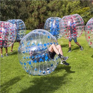 Inflatable Bumper Ball 1m 1.2m 1.5m 1.8m Diameter Bubble Soccer walking Ball Human Hamster Zorb Ball For Kids Adults Parties