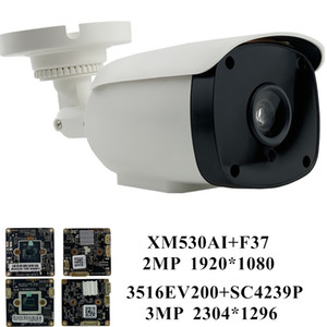 3MP 2MP IP Camera 3516EV200+SC4239P 2304*1296 XM530+F37 1080P 25FPS ONVIF CMS XMEYE NightVision IRC Motion Detection RTSP