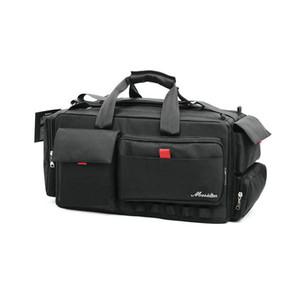 NEW المهنية كاميرا فيديو وظيفية على ظهره حقيبة لنيكون سوني باناسونيك لايكا سامسونج كانون JVC حالة MSDD