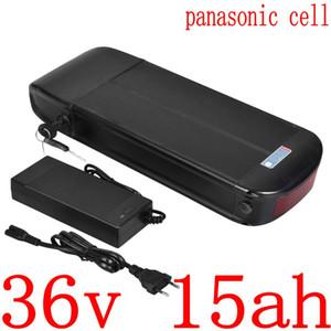 36V 500W 1000W Ebike bateria 15AH bateria elétrica moto 11.6AH 12Ah 14.5Ah 15Ah 17Ah lítio usar celular Panasonic