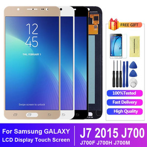 LCD For Samsung Galaxy J7 2015 J700 J700F J700H J700M LCD Display Touch Screen Digitizer Assembly Replacement
