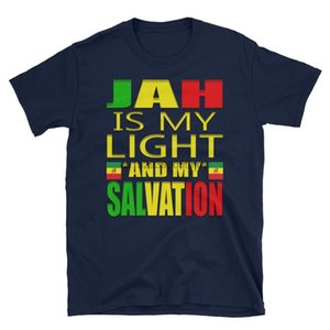 La prière shirt religieuse Reggae Rastafari Ethiopie Drapeau éthiopien Rasta Ethiopie T-shirt unisexe