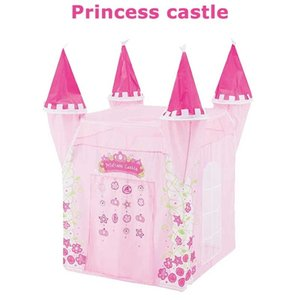 Princess Castle Children's Tent Indoor Princess Girl Ocean Ball Pool Toy House Boy Castle Baby Play House Fence